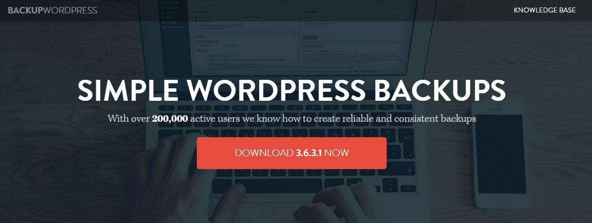 BackupWordPress service