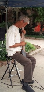 Bob Culbertson playing Chamber Board