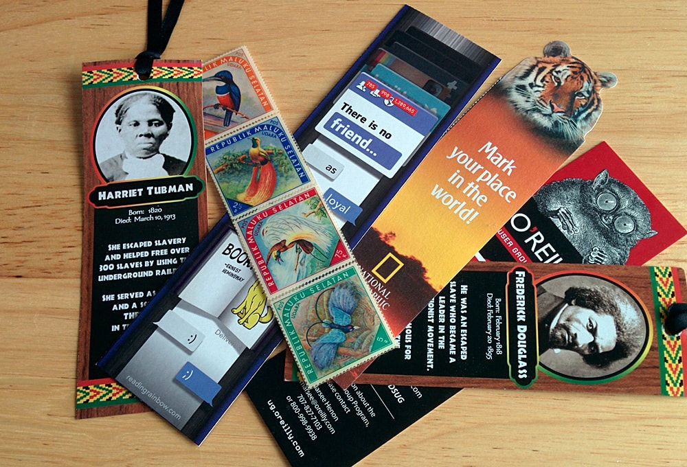 Bookmarks commemorating, Martin Luther King, Jr Day, National Geographic, Reading Rainbow