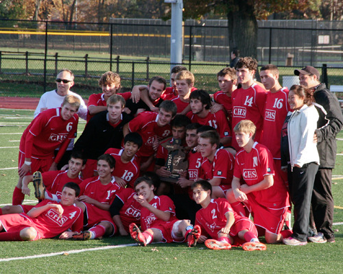 Canton Chiefs Soccer Team group photo