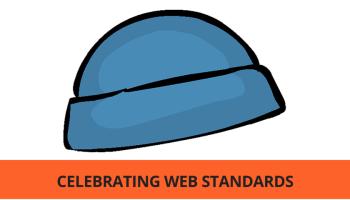 e15412498eb Celebrating Web Standards on Blue Beanie Day
