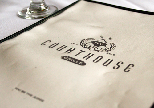 Courthouse Grille menu