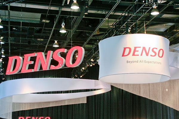 Denso display signage.