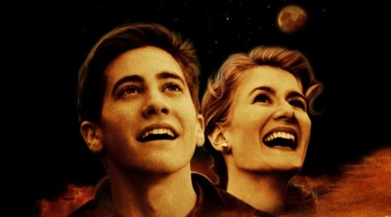 Jake Gyllenhaal and Laura Dern in publicity poster for October Sky