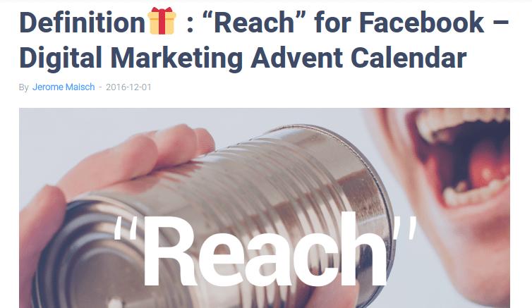 2016 Digimind Digital Marketing Advent Calendar