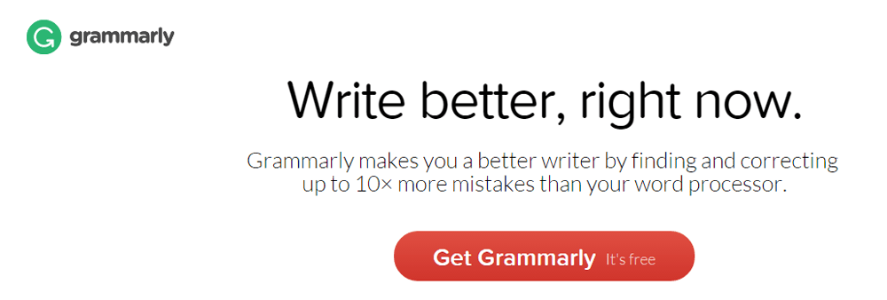 Grammarly: write better, right now