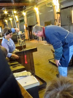 Glassblowing at the Village