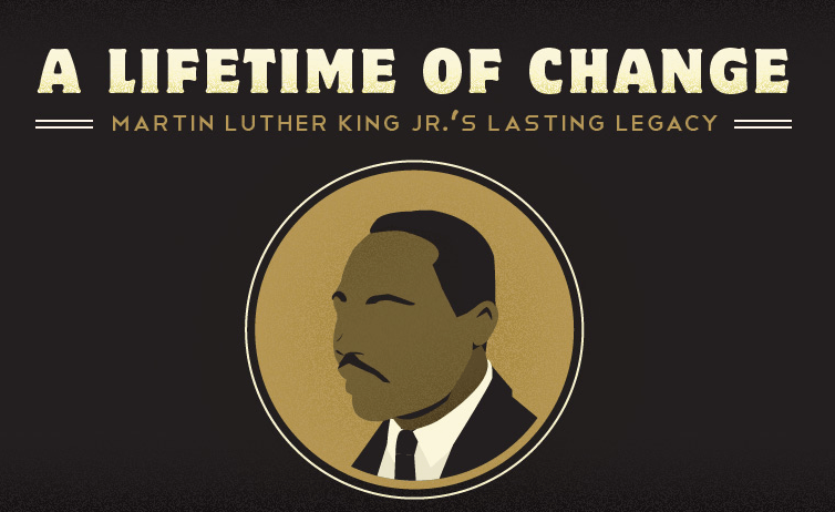 A lifetime of change: Martin Luther King, Jr's lasting legacy