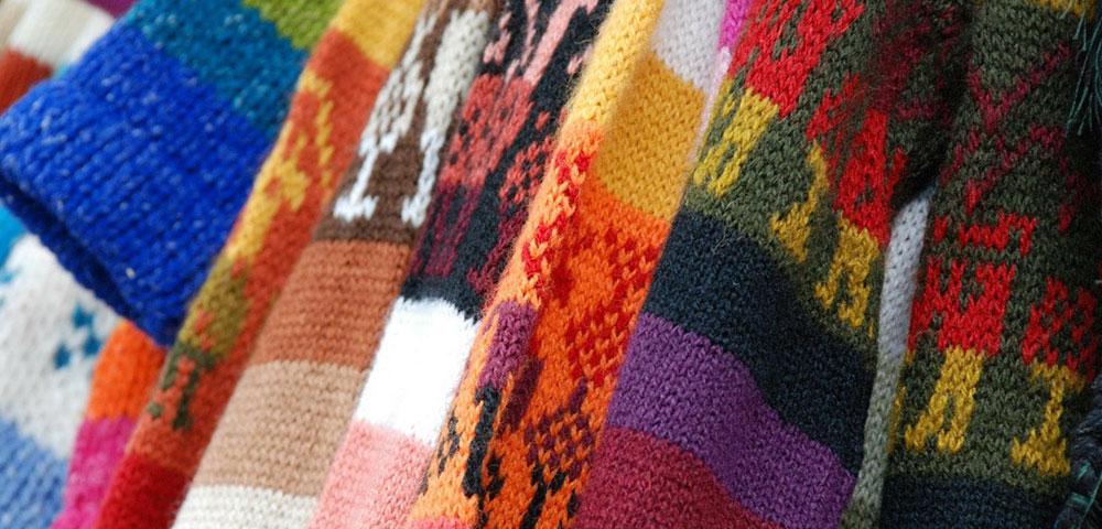 Multi-colored sweaters