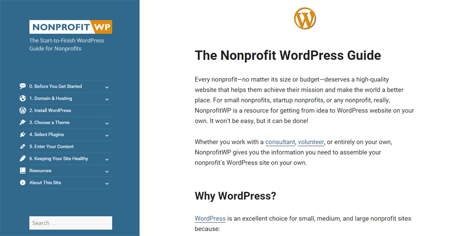 The Nonprofit WordPress Guide