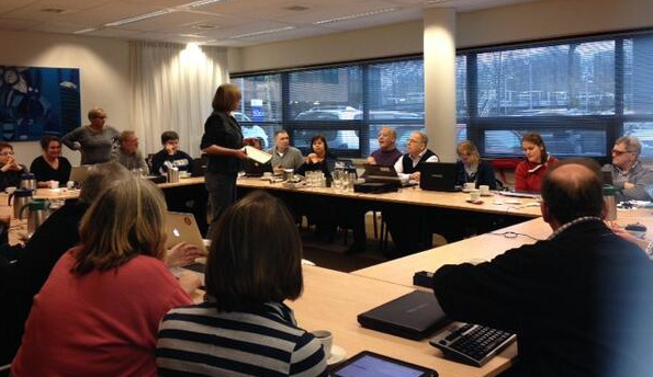 Rian Rietveld teaching workshop