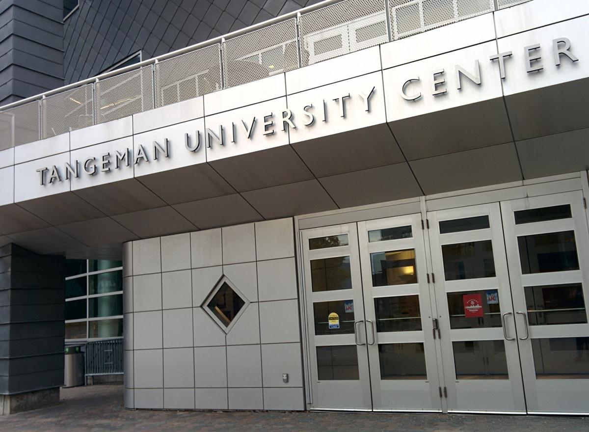 Tangeman University Center entrance