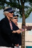 women veterans marching in the 2011 Plymouth Memorial Day Parade