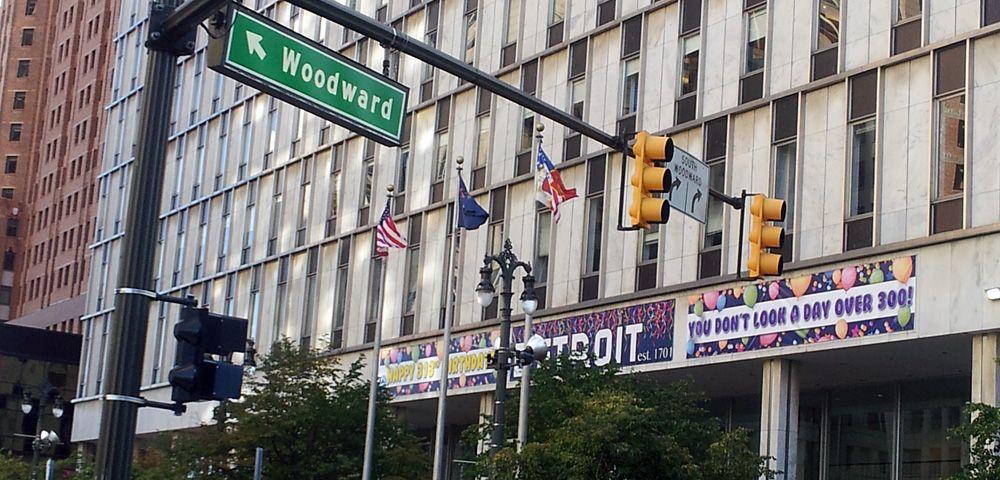 Woodward Downtown Detroit