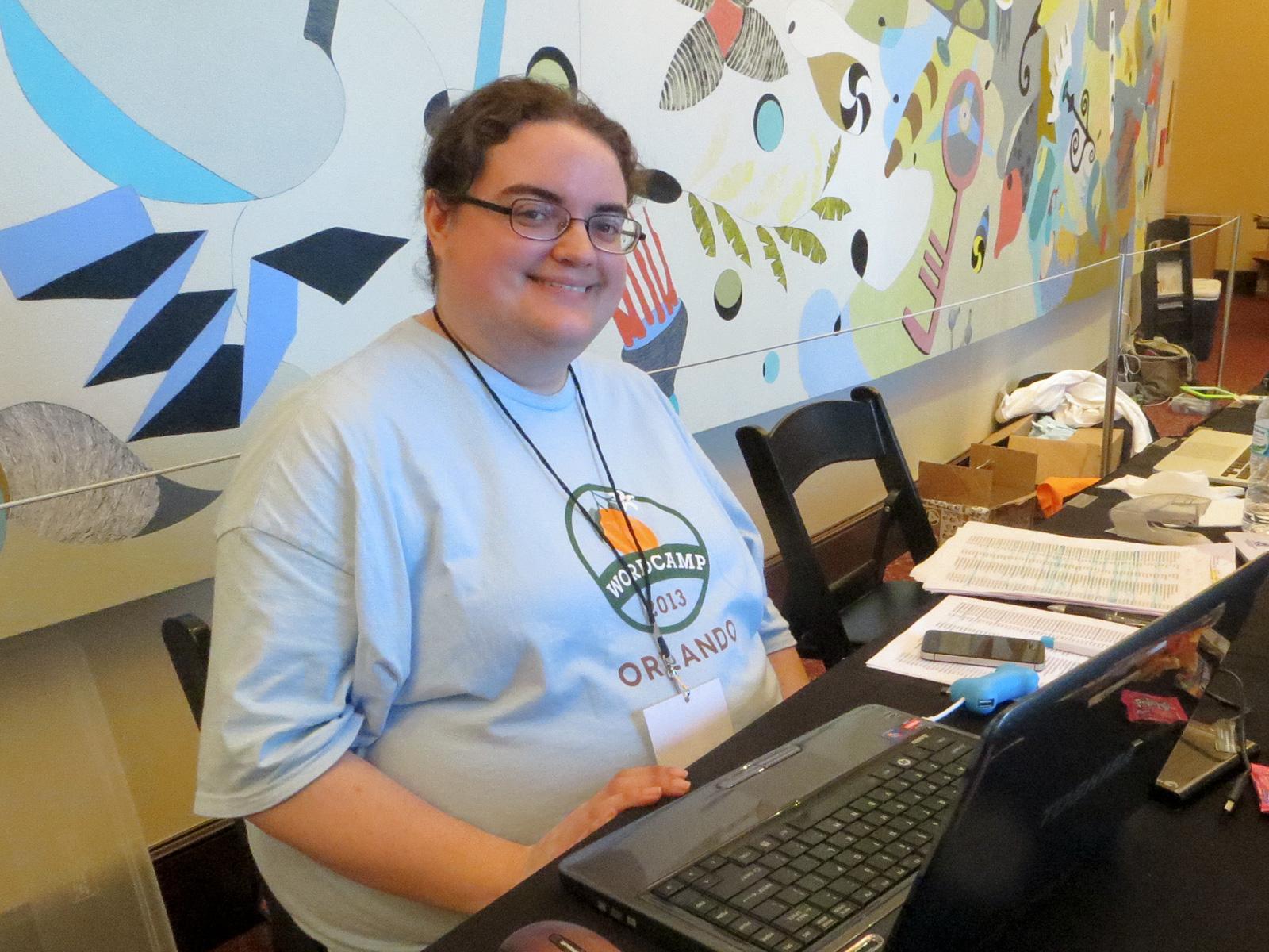 WordCamp Orlando 2013 Registration Volunteer