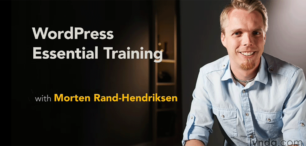 WordPress Essential Training with Morten Rand-Hendricksen