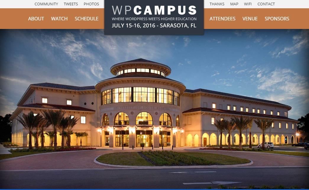 WP Campus 2016:
