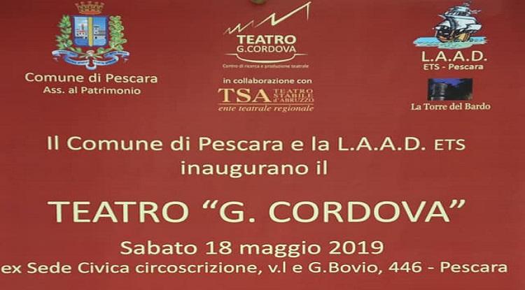 Pescara Apre Il Teatro Cordova Una Giornata Di Eventi E