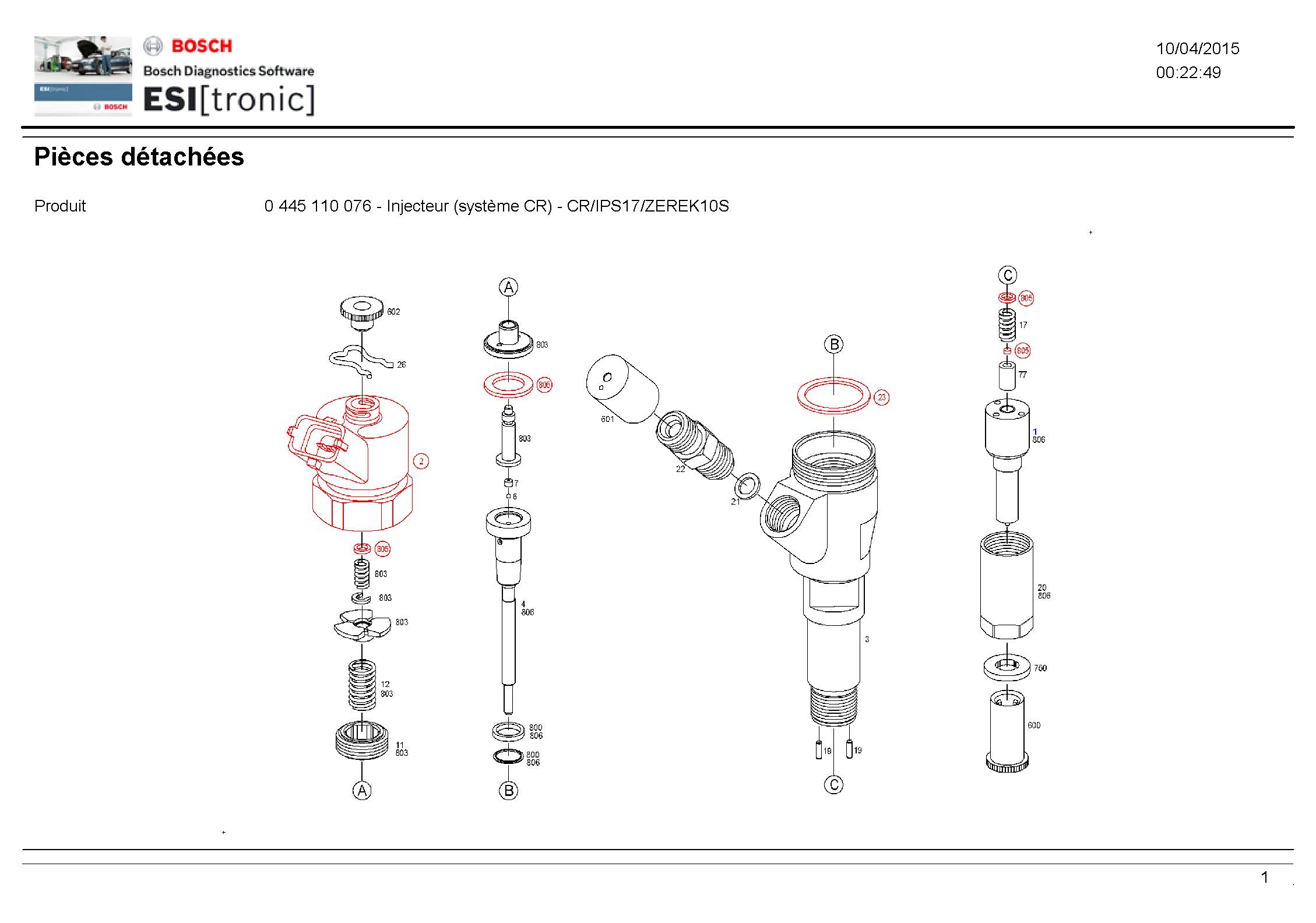 Joint Injecteur Cr Joint Injecteur Common Rail Lir B