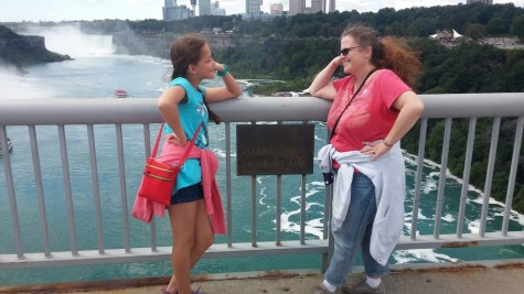 Two countries, two silly women, one fabulous, colorful day.