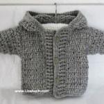 Free Crochet Boys Cardigan Pattern