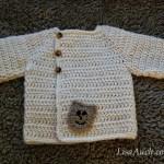 Free Crochet Baby Cardigan Newborn