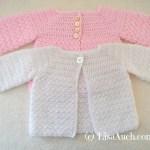 free crochet pattern baby cardigan