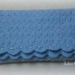 free shell baby blanket crochet pattern