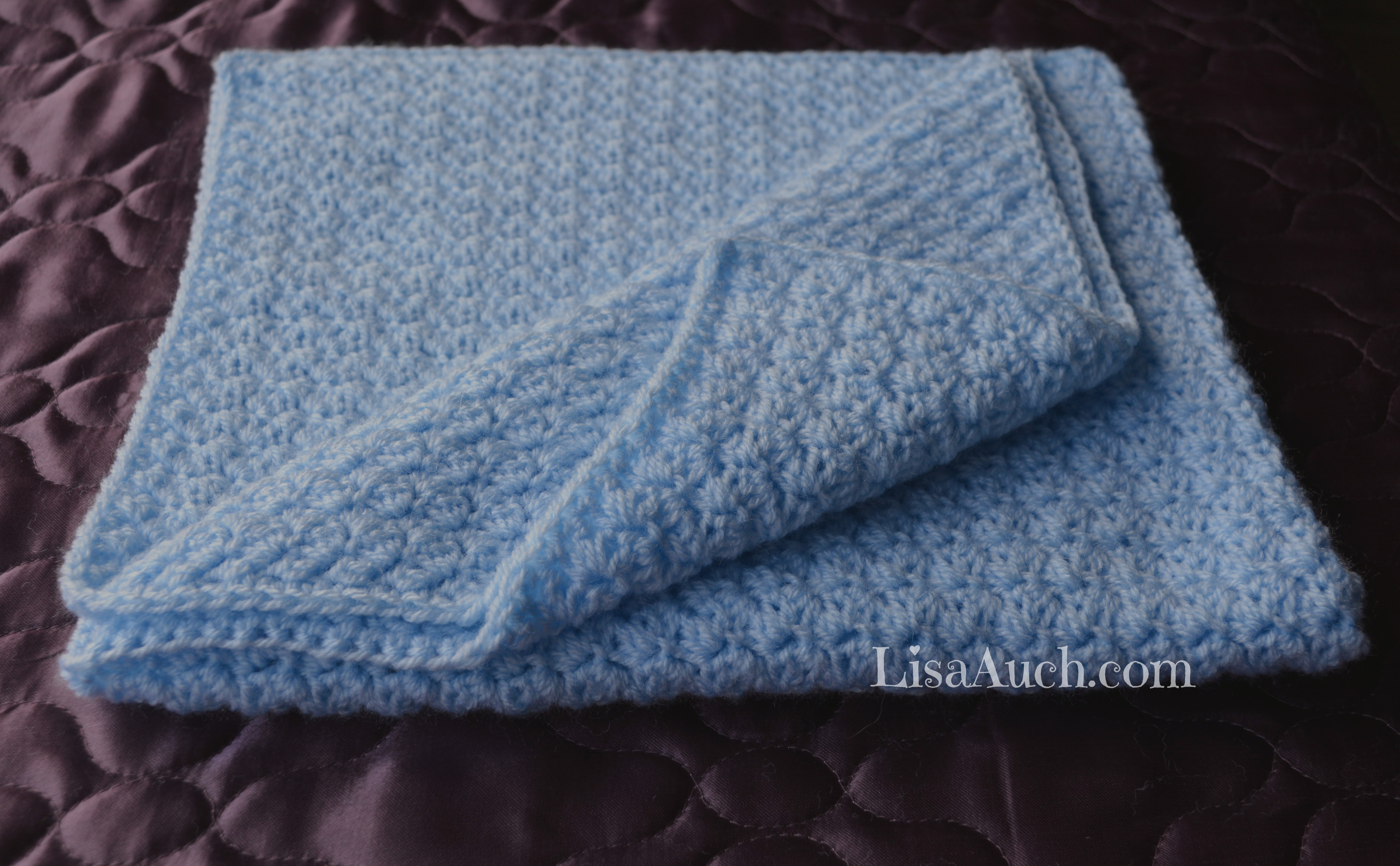 Crochet Baby Blanket Patterns Lisaauch