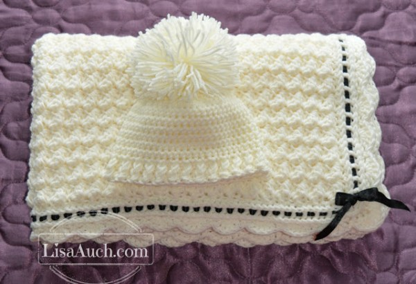 Crochet A Beautiful Baby Blanket Crochet Baby Hat With These Free