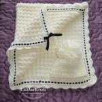 Free Crochet Baby Blanket Pattern and Crochet Baby Hat