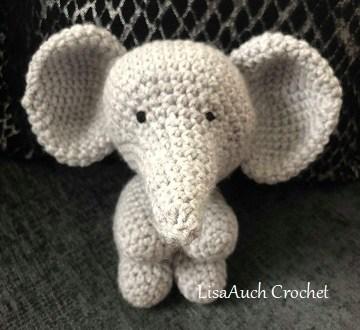crochet elephant toy pattern