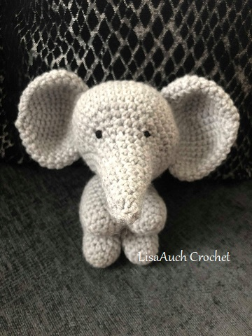 crochet elephant toy pattern