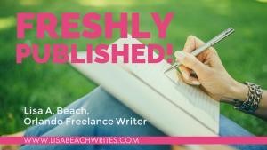 Lisa Beach, Orlando Freelance Writer