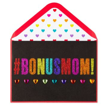 Bonus Mom | Mother's Day Greeting Card