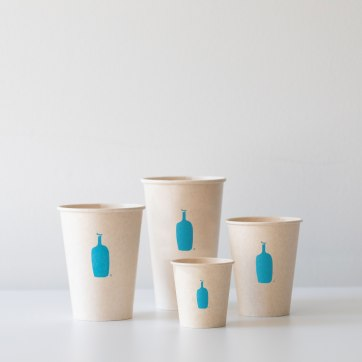 Mechanicals for updated biodegradable sugarcane cold beverage retail cups.