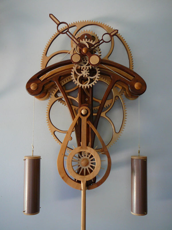 Build Plans Wooden Gear Clock Wooden Arts Crafts Furniture