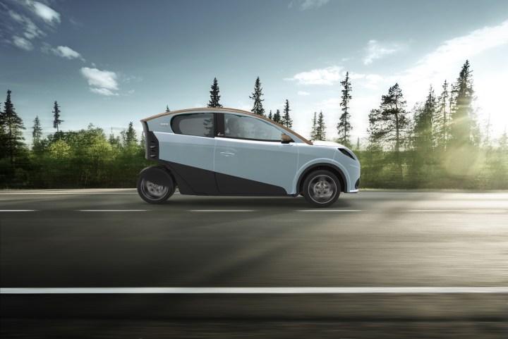 Ecar 333, la petite voiture belge à motorisation électrique