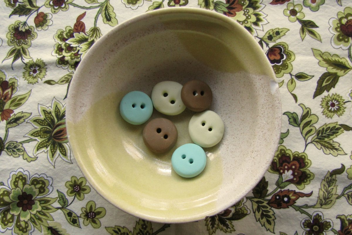 Beginner Button Class - Making and Baking Your First Button