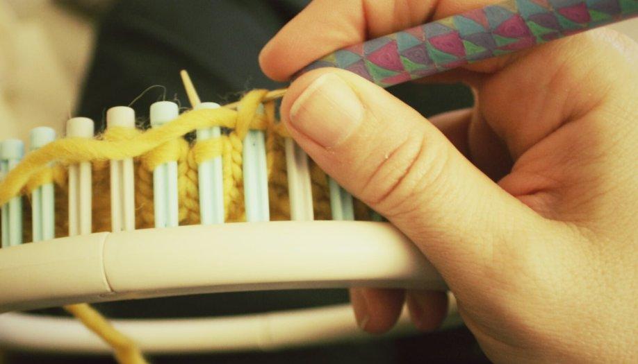 Loom Knitting Resources Polka Dot Cottage
