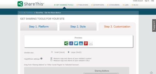 Tech tips for creative blogs: tip #2 - add share buttons