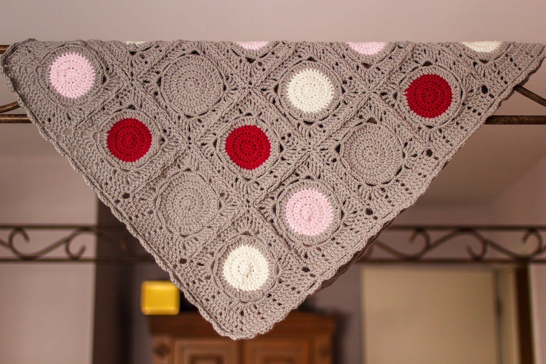 e4645253a1d0f May Baby Blanket Crochet Pattern ⋆ Polka Dot Cottage