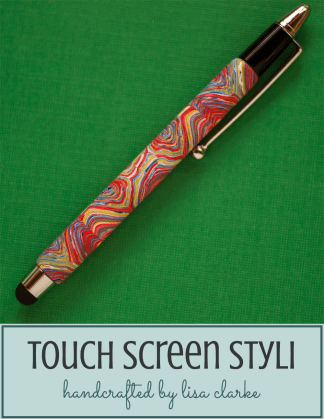 Polymer Clay Touch Screen Stylus from Polka Dot Cottage