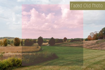 Polka Dot Cottage Lightroom Presets and Photoshop Actions Creative Collection #1: Faded Old Photo