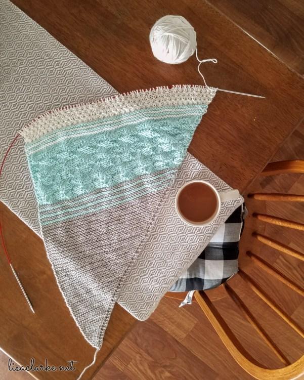 The Taryn Shawl knitting pattern