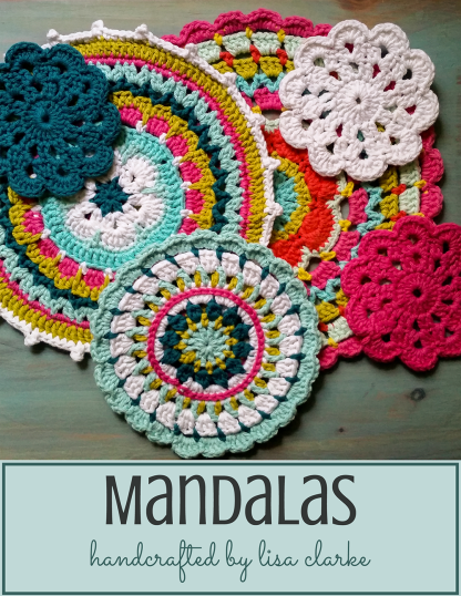 One-of-a-Kind Crocheted Mandalas from Polka Dot Cottage