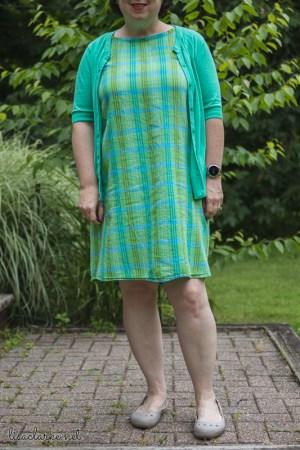 Sewing Summer Sheath Dresses: Modified Dress No. 1