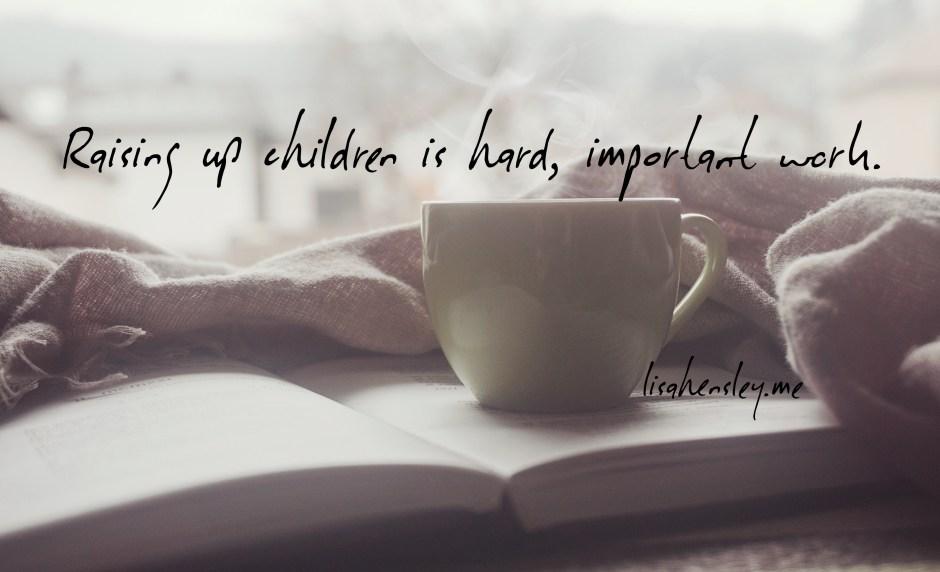 joy in motherhood quote