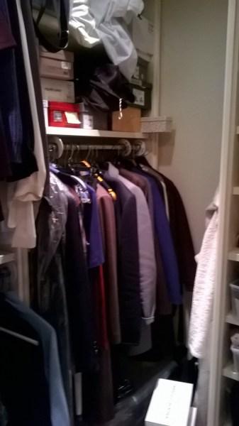 photo of 'before' closet