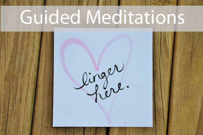 guided meditations lisa mccrohan